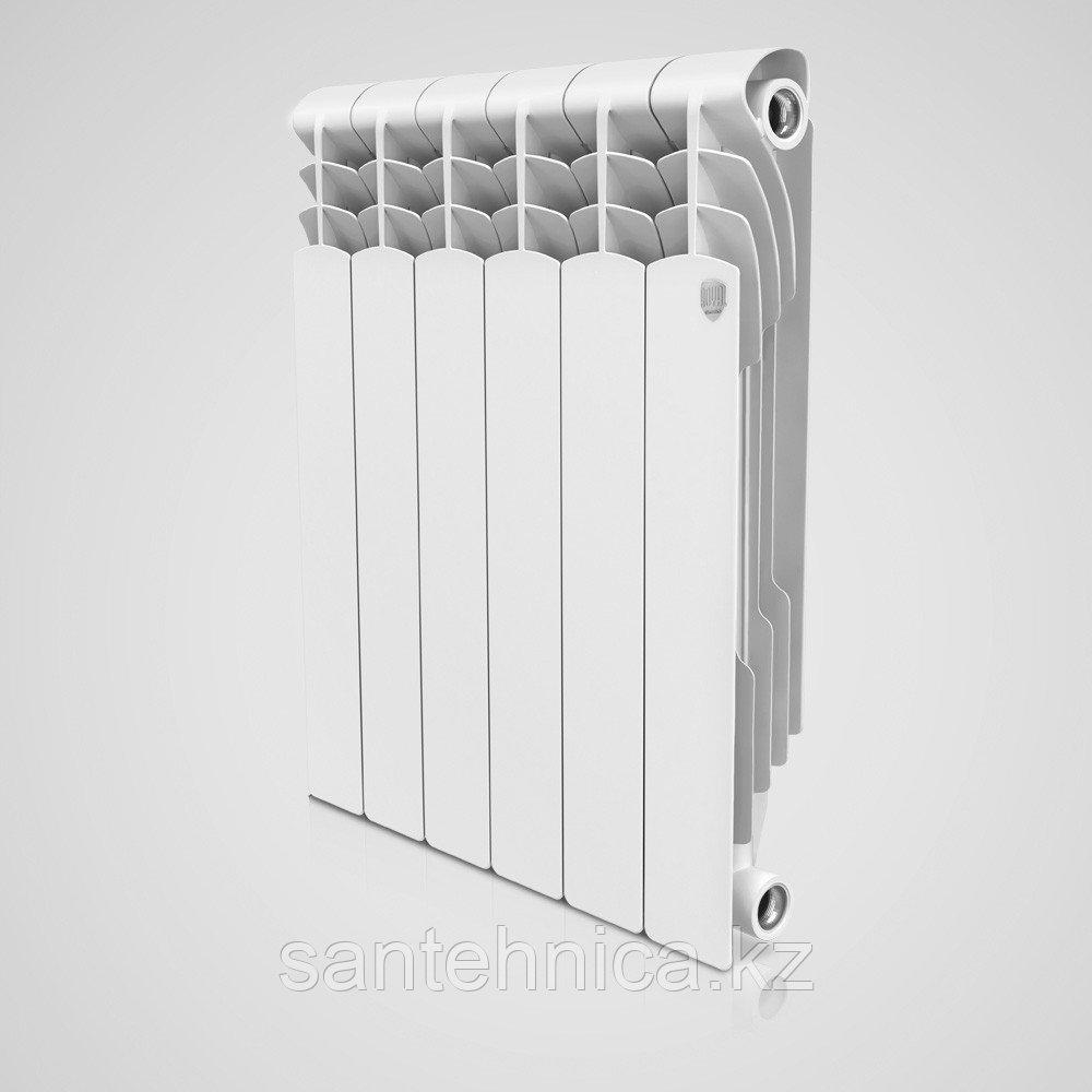 "Радиатор биметаллический ""Royal Thermo"" Revolution 564/80/80 мм Россия 160 Вт/1.82 кг"