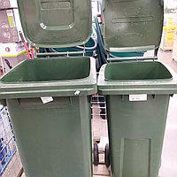 Бак мусорный контейнер на колесах 240 л.