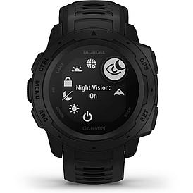 Смарт-часы Garmin Instinct Tactical черный