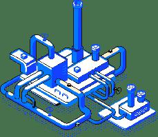 Оборудование для нефтехимии и нефтепереработки (НПЗ); энергетики