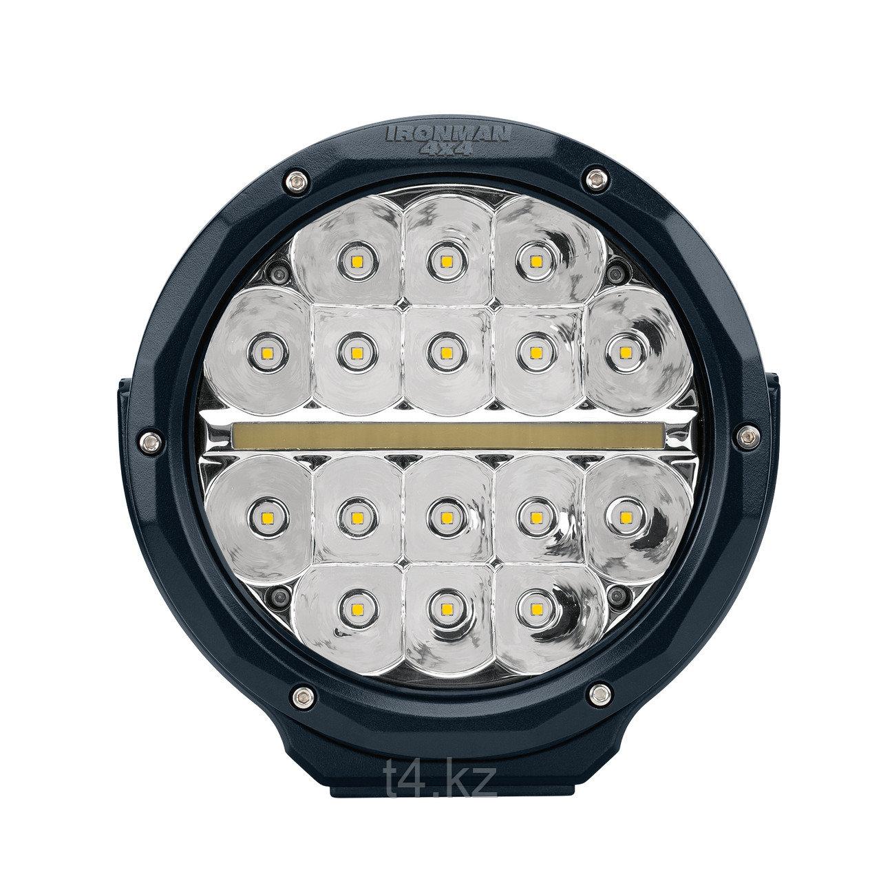 Фары дополнительного света светодиодные 177мм / 48W. Дальний свет + DRL - IRONMAN 4X4
