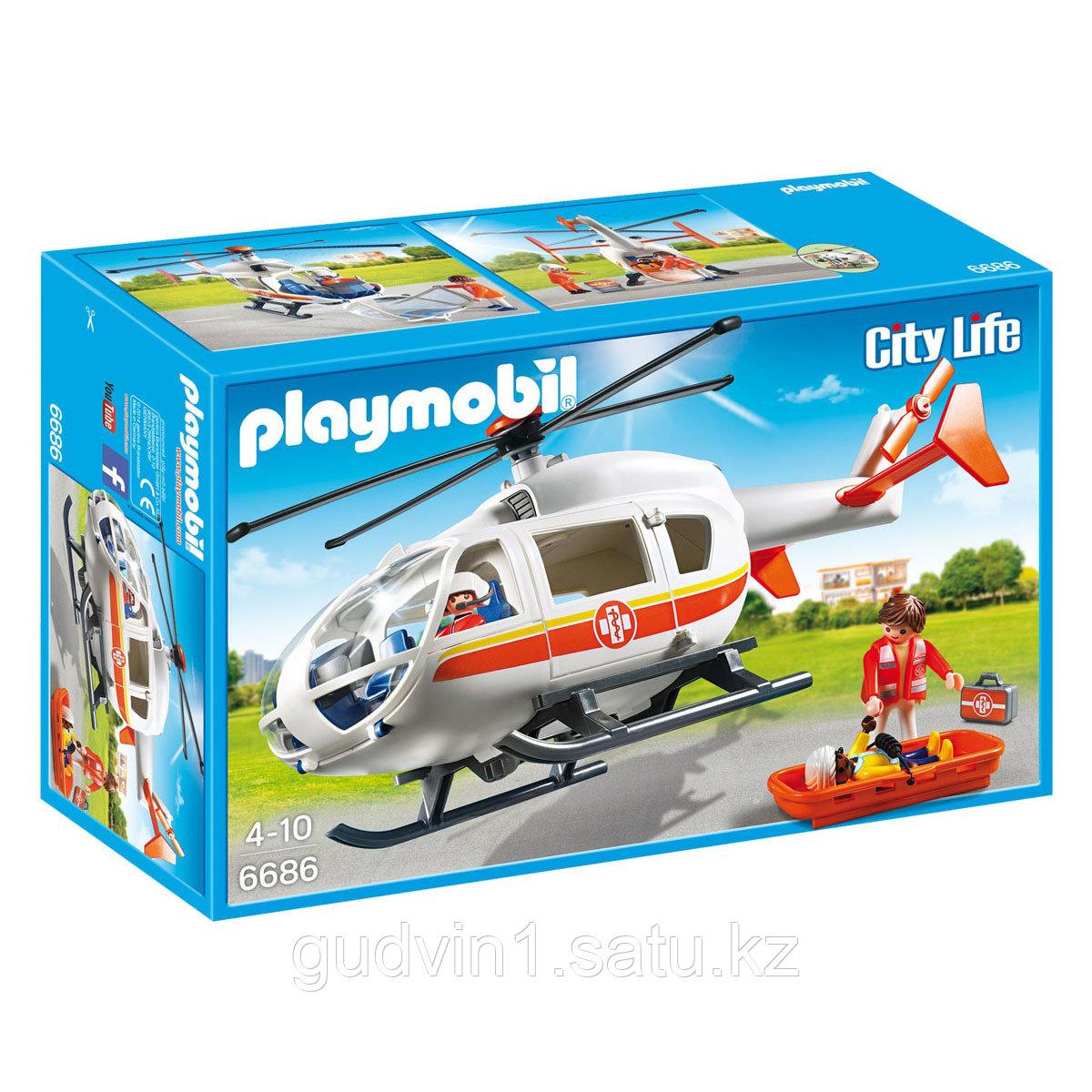 Детская клиника: Вертолет скорой помощи 6686pm