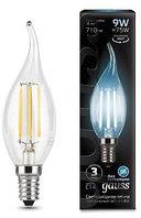 Лампа Gauss LED Filament Candle 9W E14 4100K 1/10/50