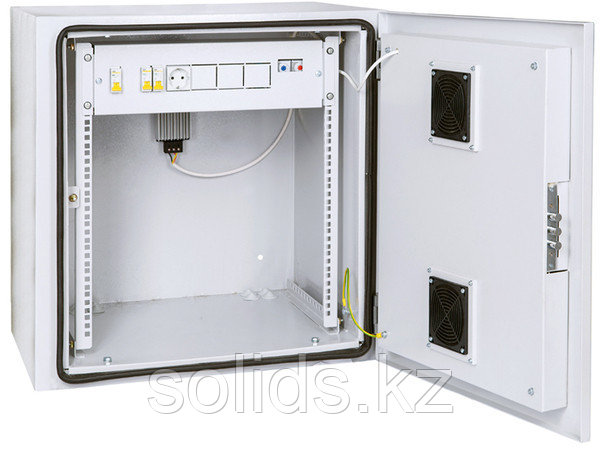 Шкаф уличный настенный климатический 6U Ш665хВ550хГ605мм  IP55