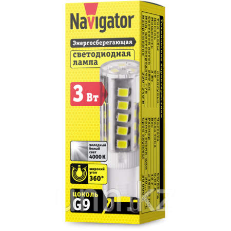Лампа NLL-P-G9-3-230-4K Navigator, фото 2