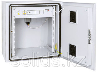 Шкаф уличный настенный климатический 9U Ш665хВ683хГ605мм IP55