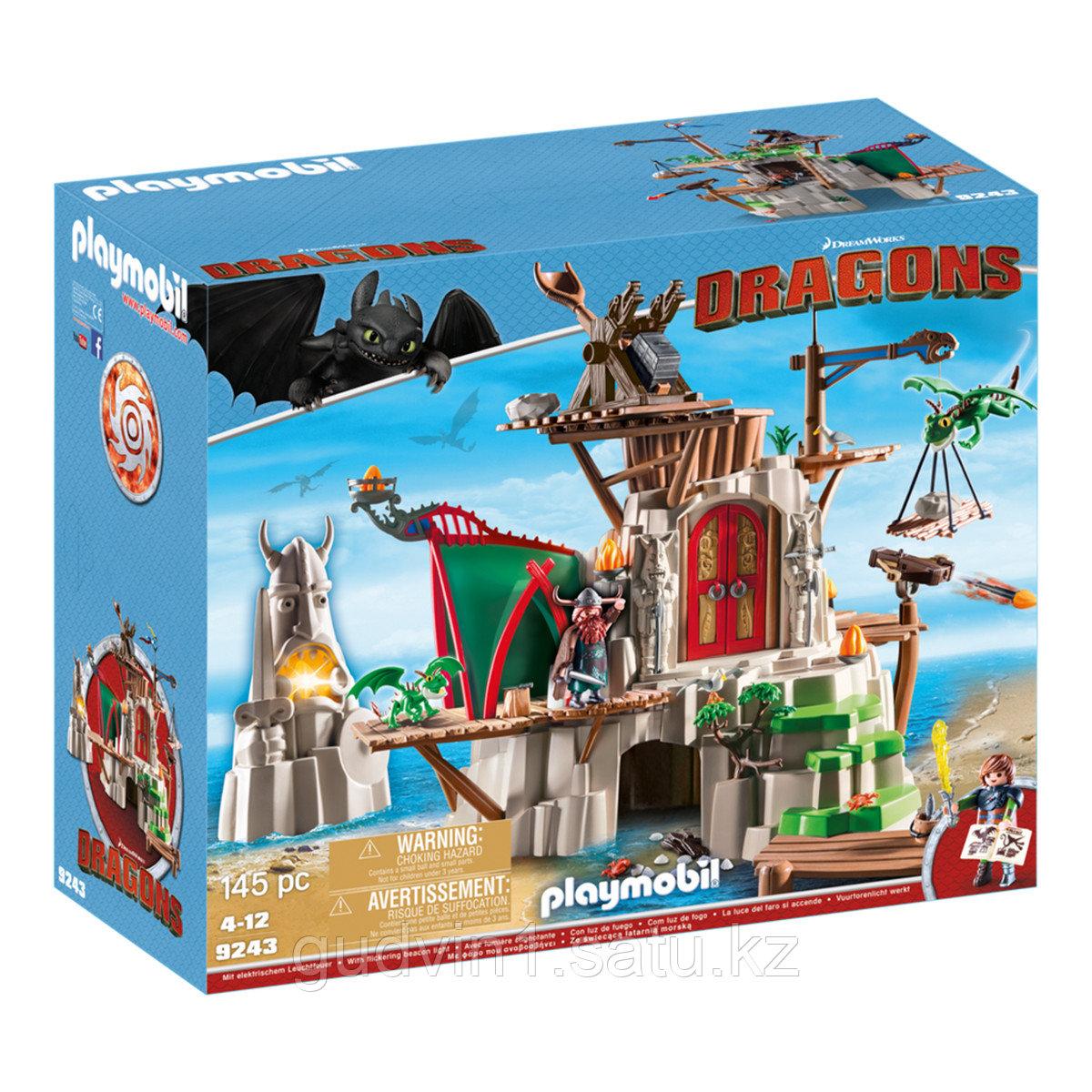 Конструктор Playmobil Драконы:  Олух 9243pm