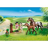 Конструктор Playmobil Конный клуб: Загон для лошадей 6931pm, фото 4