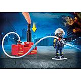 Конструктор Playmobil Пожарная служба: Пожарные с водяным насосом 9468pm, фото 2