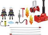 Конструктор Playmobil Пожарная служба: Пожарные с водяным насосом 9468pm, фото 3