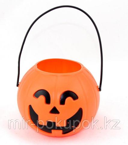 Ведерко конфетница для Хэллоуина