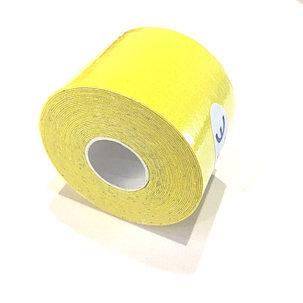 Кинезио тейп Jincheng Sports (цвет желтый) - пластырь для поддержки мышц 5 см х 5 м, фото 2