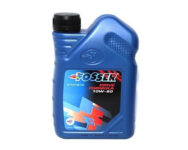 Моторное масло FOSSER Drive Formula 10W-60 1L