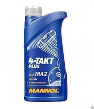 Моторное масло MANNOL 4-Takt Plus  10W-40 1л.