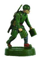 Сборная модель Советские саперы 1941-1942 ВОВ, 1:72, фото 1