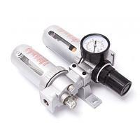 """Блок подготовки воздуха 1/4"""" (фильтр + регулятор + маслодобавитель)(0-10bar, температура воздуха: 5°-60°С,"""