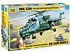 Сборная модель Российский ударный вертолет МИ-35М