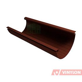 Желоб 125 Vinylon водосточный (кофе)