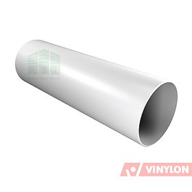 Труба 90 Vinylon водосточная (белая)