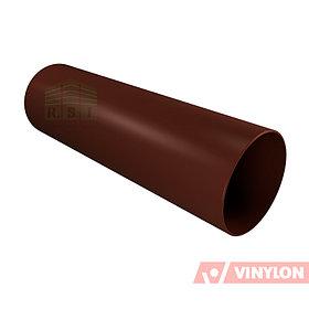 Труба 90 Vinylon водосточная (кофе)