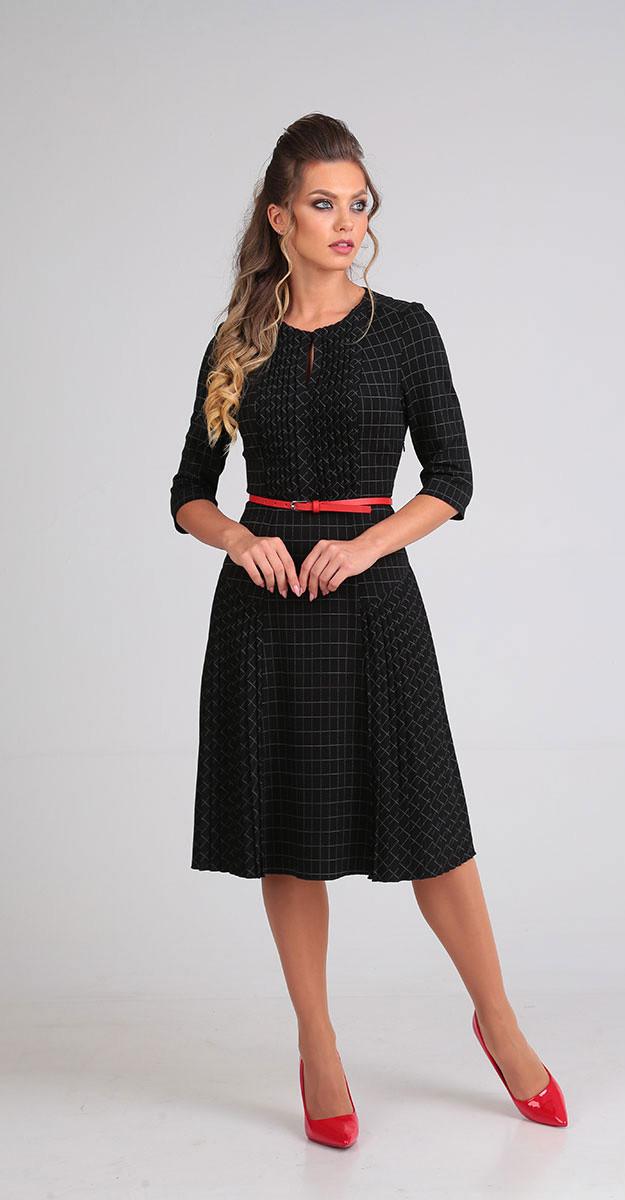 Платье Sandyna-13597, черный, 44