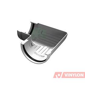 Угол желоба 90° Vinylon (универсальный, белый)