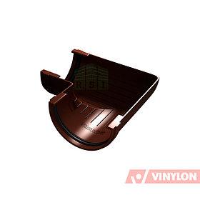Угол желоба 90° Vinylon (универсальный, кофе)