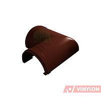 Угол желоба 90° Vinylon (универсальный, кофе), фото 2