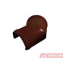 Угол желоба 135° Vinylon (универсальный, кофе), фото 2