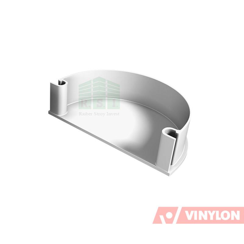 Заглушка воронки Vinylon (универсальная, белая)