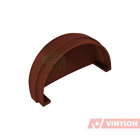 Заглушка желоба Vinylon (универсальная, кофе)