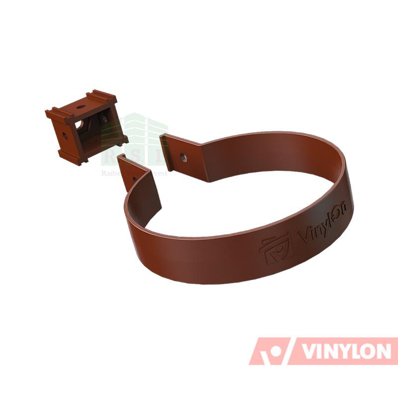 Хомут трубы Vinylon (кофе)