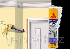 Sikaflex-11FC, клей-герметик, белый, серый, бежевый, коричневый, черный, картридж 300 мл