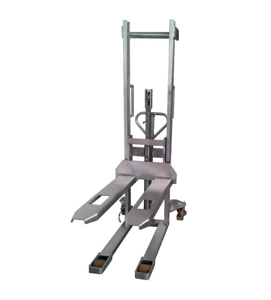 Штабелер гидравлический TOR HSY10 (нержавеющая сталь)