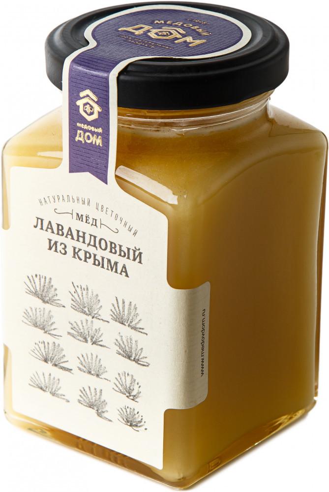 Мед натуральный цветочный «Лавандовый из Крыма»