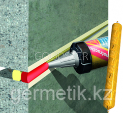 Sikaflex Construction, герметик, картридж 300 мл, серый, белый, бежевый, коричневый, черный