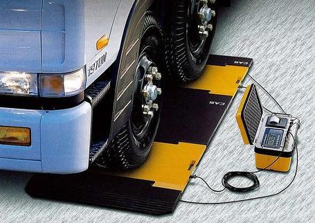Портативные автомобильные весы (поосные)