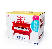 Детское красное пианино Baoli