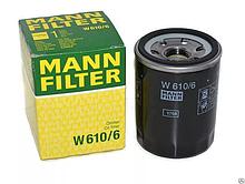 Фильтр масляный W610/6 MANN-FILTER для автомобилей Honda 1шт.