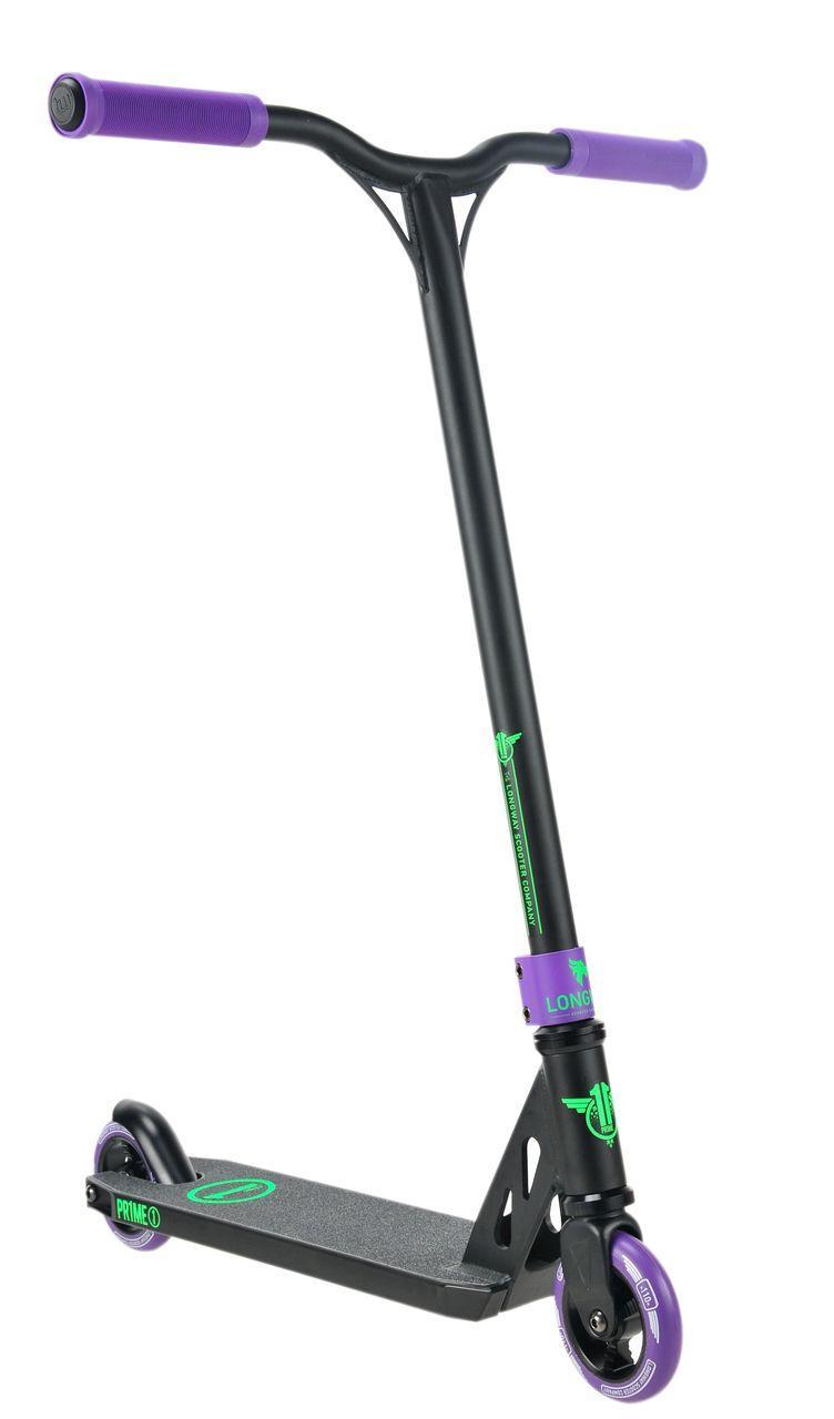Трюковый оригинальный самокат Longway Prime Purple XL. Гарантия на раму.