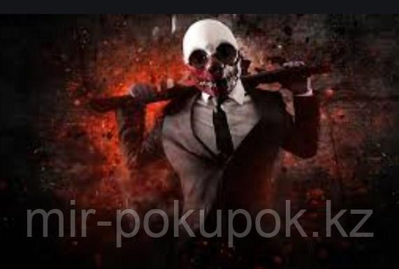 "Маска для Хэллоуина  Pay Day "" Вулф"""