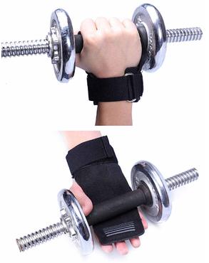 Перчатки атлетические, Фитнес-перчатки для тяжелой атлетики защита для ладоней, фото 2