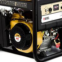 Генератор бензиновый PS 90 EA, 9,0 кВт, 230В, 25л, коннектор автоматики, электростартер// Denzel