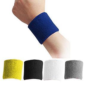 Wristband Напульсники на руку, предплечье и на голову Adidas (цвет черный), фото 2