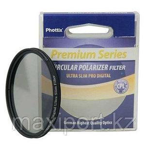 C-pl cpl polarizer фильтры поляризационный Phottix, фото 2