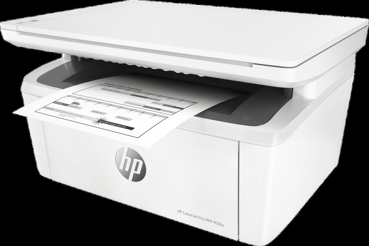 HP W2G54A МФУ лазерное монохромное LaserJet Pro M28a (А4)