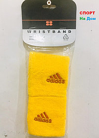 Wristband Напульсники на руку, предплечье Adidas (цвет желтый)