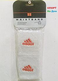 Wristband Напульсники на руку, предплечье Adidas (цвет белый)