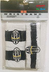 Wristband Напульсники на руку, предплечье и на голову Juventus (цвет белый, черный)