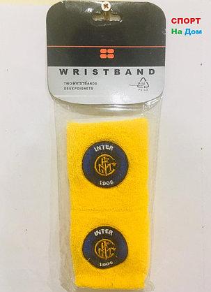 Wristband Напульсники на руку, предплечье Inter (цвет желтый), фото 2